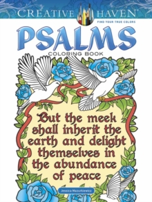 Creative Haven Psalms Coloring Book, Paperback / softback Book