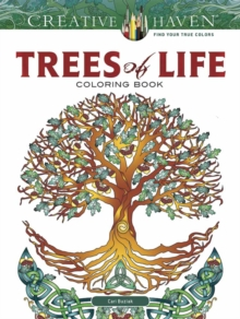 Creative Haven Trees of Life Coloring Book, Paperback Book