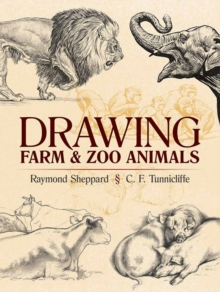 Drawing Farm and Zoo Animals, Paperback Book