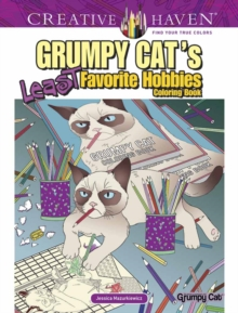 Creative Haven Grumpy Cat's Least Favorite Hobbies, Paperback Book