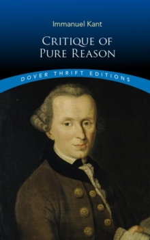 Critique of Pure Reason, Paperback / softback Book