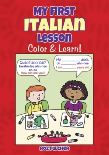 My First Italian Lesson : Color & Learn!, Paperback / softback Book