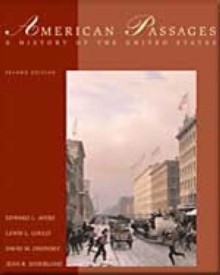 American Passages : A History of the United States, Hardback Book