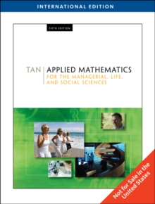 Applied Mathematics for the Managerial, Life, and Social Sciences, Paperback Book