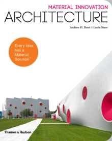 Material Innovation: Architecture, Paperback / softback Book