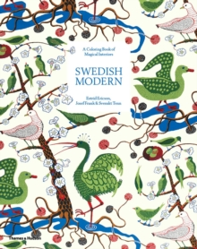 Swedish Modern: A Colouring Book of Magical Interiors : Estrid Ericson, Josef Frank & Svenskt Tenn, Paperback / softback Book