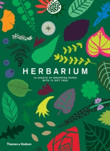 Herbarium: Gift Wrapping Paper Book : 10 Sheets of Wrapping Paper with 12 Gift Tags, Miscellaneous print Book