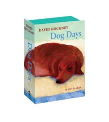 David Hockney Dog Days: Notecards, Postcard book or pack Book
