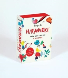 Hirameki: 16 Notecards : Draw What You See, Postcard book or pack Book