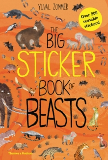 The Big Sticker Book of Beasts, Paperback Book