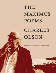 The Maximus Poems, Paperback Book