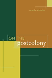 On the Postcolony, Paperback / softback Book