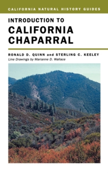 Introduction to California Chaparral, Paperback / softback Book