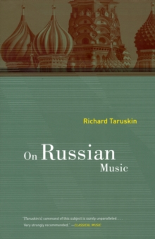 On Russian Music, Paperback Book