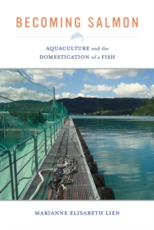Becoming Salmon : Aquaculture and the Domestication of a Fish, Hardback Book