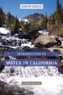Introduction to Water in California, Hardback Book