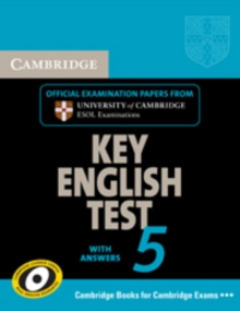 KET Practice Tests : Cambridge Key English Test 5 Self Study Pack (Student's Book with answers and Audio CD): Official Examination Papers from University of Cambridge ESOL Examinations, Mixed media product Book