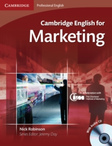 Cambridge English for Marketing Student's Book with Audio CD, Mixed media product Book