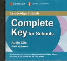 Complete Key for Schools Class Audio CDs (2), CD-Audio Book