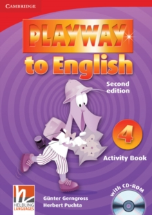 Playway to English Level 4 Activity Book with CD-ROM, Mixed media product Book