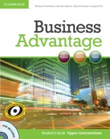 Business Advantage : Business Advantage Upper-intermediate Student's Book with DVD, Mixed media product Book