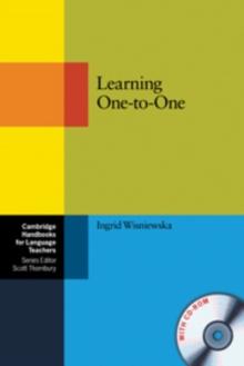 Cambridge Handbooks for Language Teachers : Learning One-to-One Paperback with CD-ROM, Mixed media product Book