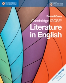 Cambridge IGCSE Literature in English, Paperback Book