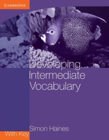 Developing Intermediate Vocabulary with Key, Paperback Book
