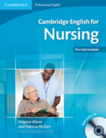 Cambridge English for Nursing Pre-intermediate Student's Book with Audio CD, Mixed media product Book