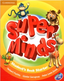 Super Minds Starter Student's Book with DVD-ROM, Mixed media product Book