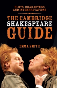 The Cambridge Shakespeare Guide, Paperback Book