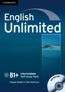 English Unlimited Intermediate Self-study Pack (workbook with DVD-ROM), Mixed media product Book
