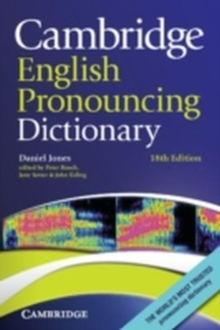 Cambridge English Pronouncing Dictionary, Paperback / softback Book