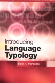 Introducing Language Typology, Paperback Book