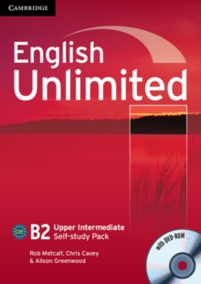 English Unlimited Upper Intermediate Self-study Pack (workbook with DVD-ROM), Mixed media product Book