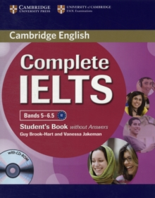 Complete : Complete IELTS Bands 5-6.5 Student's Book without Answers with CD-ROM, Mixed media product Book