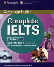 Complete : Complete IELTS Bands 4-5 Student's Book with Answers with CD-ROM, Mixed media product Book