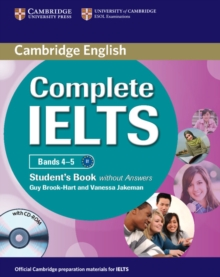 Complete IELTS Bands 4-5 Student's Book without Answers with CD-ROM, Mixed media product Book
