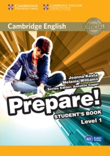 Cambridge English Prepare! : Cambridge English Prepare! Level 1 Student's Book, Paperback / softback Book