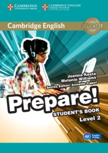Cambridge English Prepare! Level 2 Student's Book, Paperback Book