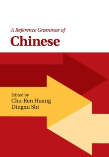 A Reference Grammar of Chinese, Paperback Book