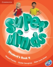 Super Minds Level 4 Student's Book with DVD-ROM, Mixed media product Book