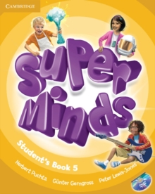 Super Minds Level 5 Student's Book with DVD-ROM, Mixed media product Book