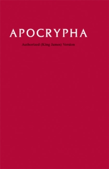 KJV Apocrypha Text Edition KJ530:A, Hardback Book