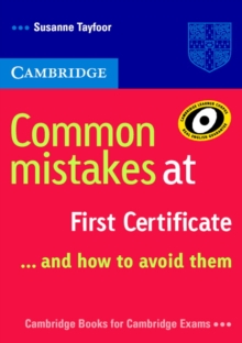Common Mistakes at First Certificate... and How to Avoid Them, Paperback Book