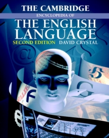 The Cambridge Encyclopedia of the English Language, Paperback Book