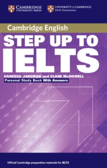 Step Up to IELTS Personal Study Book with Answers, Paperback / softback Book