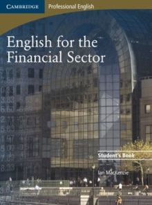 English for the Financial Sector Student's Book, Paperback / softback Book