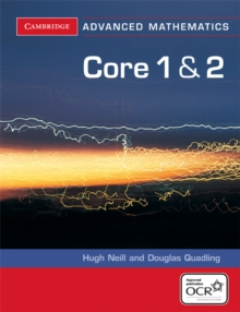 Core 1 and 2 for OCR, Paperback Book
