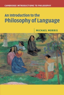An Introduction to the Philosophy of Language, Paperback Book